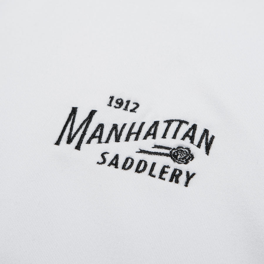 Manhattan Saddlery Belvedere Baselayer White-Shirts-Manhattan Saddlery House Label-XXS-White-Manhattan Saddlery