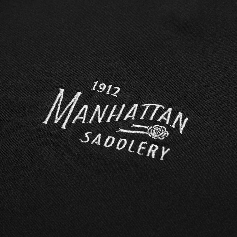 Manhattan Saddlery Belvedere Baselayer Black-Shirts-Manhattan Saddlery House Label-XXS-Black-Manhattan Saddlery