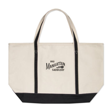 Manhattan Saddlery Emblem Barn Tote-Bags-Manhattan Saddlery House Label-Small-Manhattan Saddlery