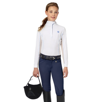 Romfh Sarafina Child's Breech Navy-Breeches-Romfh-10-Navy-Manhattan Saddlery