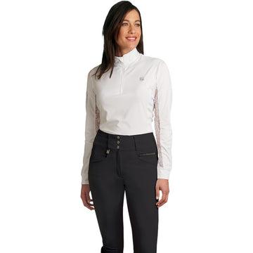Romfh Isabella Full Grip Breeches-Breeches-Romfh-24R-Black-Manhattan Saddlery