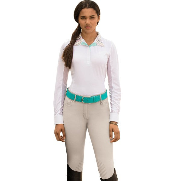 Sarafina Grip Breech-Breeches-Romfh-22R-White Sand-Manhattan Saddlery