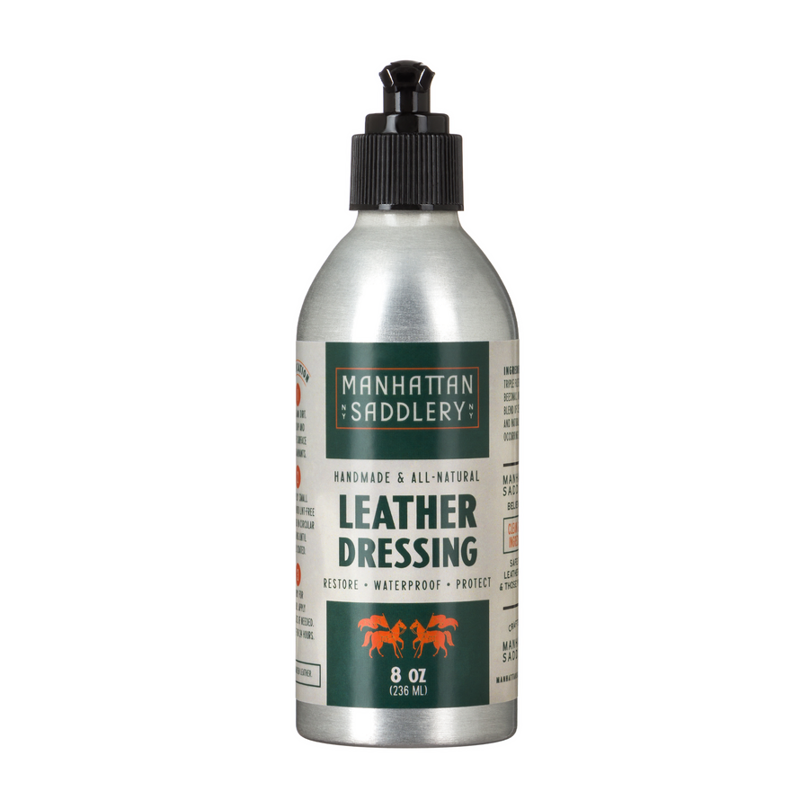 Manhattan Saddlery Leather Dressing-Leather Care-Manhattan Saddlery House Label-Manhattan Saddlery