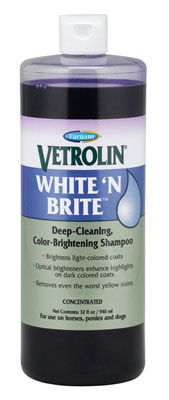 White N Brite Shampoo-Staple Supplies - Grooming-Farnam-Manhattan Saddlery