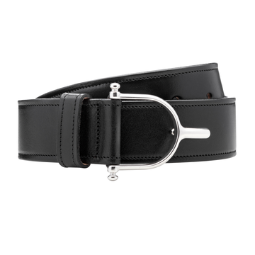 Manhattan Saddlery Claremont Belt Black-Belts-Manhattan Saddlery House Label-26-Black-Manhattan Saddlery