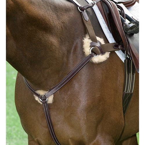 5 Way Breastplate-Breastplate-Nunn Finer-Cob-Manhattan Saddlery