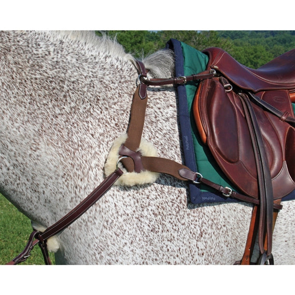 Nunn Finer 5 Way Breastplate-Breastplate-Nunn Finer-Cob-Manhattan Saddlery