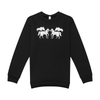 Unisex Twin Horse Logo Sweatshirt-Tops-Manhattan Saddlery House Label-XXS-Manhattan Saddlery