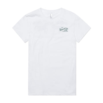 Manhattan Saddlery Classic Kids' T-Shirt White-Shirts-Manhattan Saddlery House Label-8-White-Manhattan Saddlery