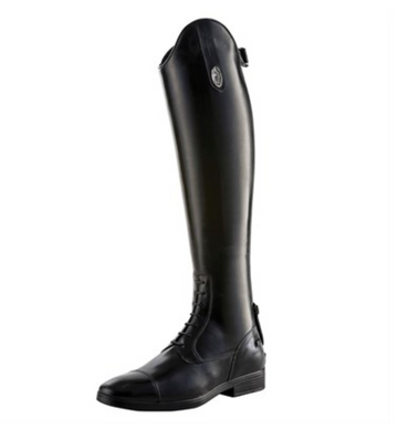 DeNiro Amabile Field Boots-Tall Boot-DeNiro Boot Co-37 MC M-Manhattan Saddlery