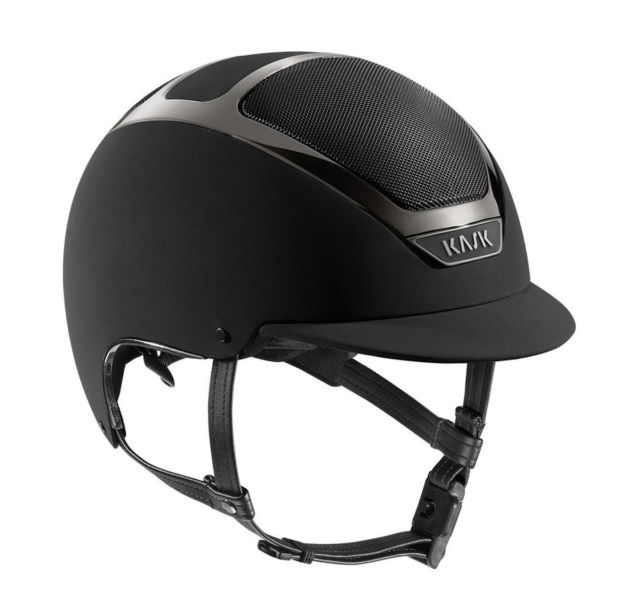 Kask Dogma Chrome Light Helmet-Helmets-Kask-55-Black-Manhattan Saddlery