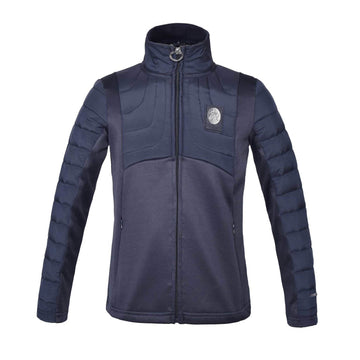Kingsland Dakota Junior Padded Fleece Jacket-Sportswear - Kids - Jackets-Kingsland-Navy-S-Manhattan Saddlery