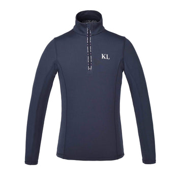 Kingsland Damien Junior Training Shirt-Sportswear - Kids - Tops-Kingsland-Navy-S-Manhattan Saddlery