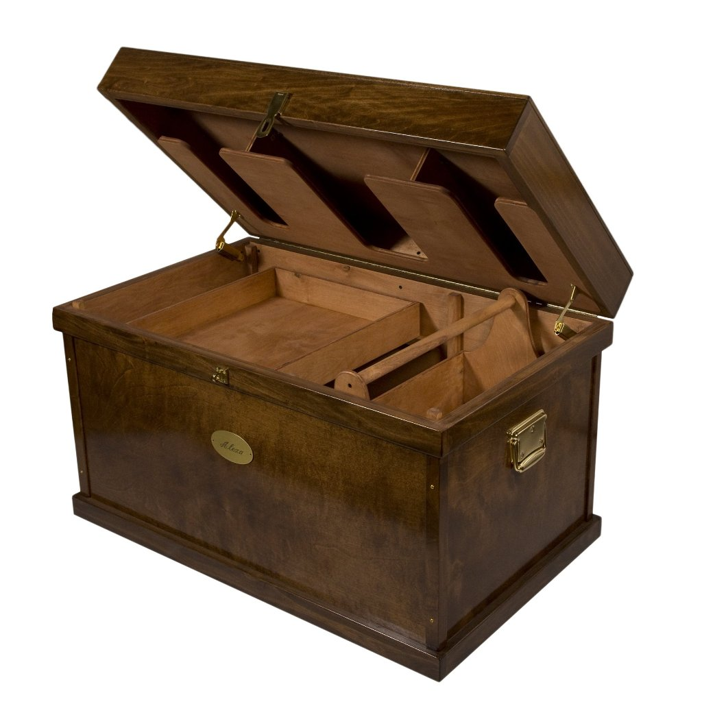 Deluxe Tack Trunk-Tack Boxes-Horsefare-Extra Large-Manhattan Saddlery