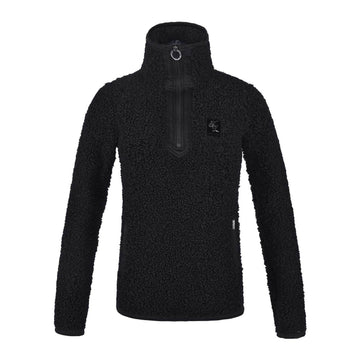 Kingsland Dharma Fleece Jacket-Sportswear - Ladies - Jackets-Kingsland-Black-XS-Manhattan Saddlery