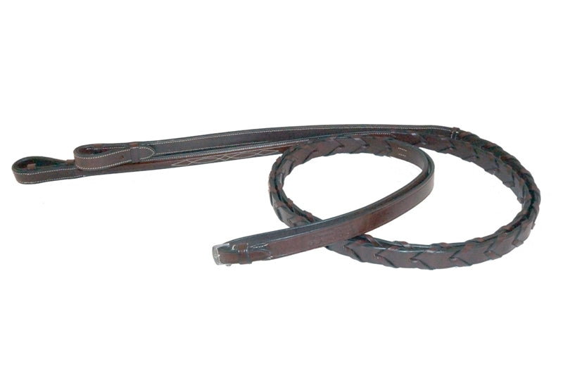 Nunn Finer Florona Laced Reins-Reins-Nunn Finer-Manhattan Saddlery