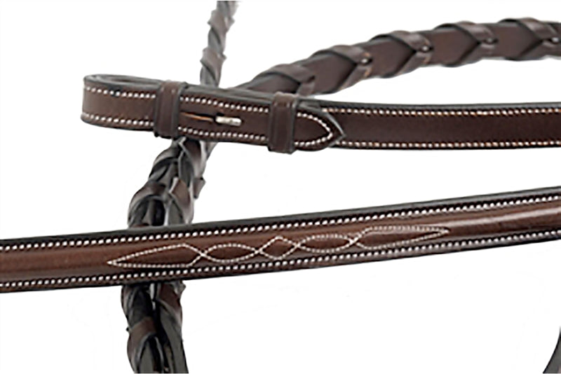 Florona Laced Reins-Reins-Nunn Finer-Manhattan Saddlery