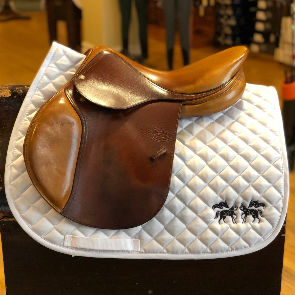 "2009 Socoa 16.5"" - 0A Flap-Saddles-Devoucoux-Manhattan Saddlery"