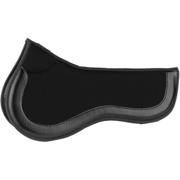 Equifit ImpacTeq Half Pad Black-Saddle Pads-EquiFit-Black-Manhattan Saddlery