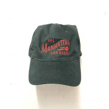 Manhattan Saddlery Ringside Baseball Cap Boxwood-Hats-Manhattan Saddlery-Boxwood-Manhattan Saddlery