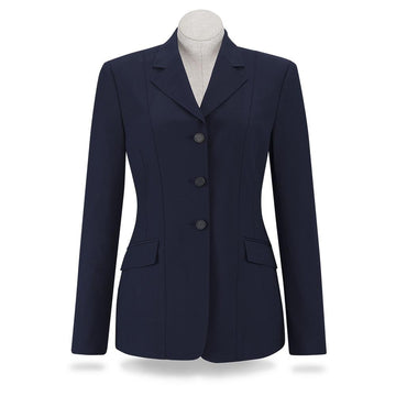 RJ Classics Ellie Childs' Show Coat-Show Coats-RJ Classics-4-Navy-Manhattan Saddlery