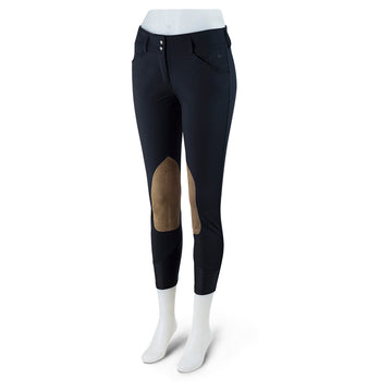 RJ Classics Gulf Breech Black-Breeches-RJ Classics-22R-Black-Manhattan Saddlery