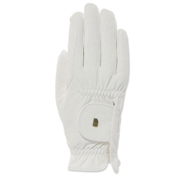 Roeckl Roeck-Grip White-Gloves-Roeckl-6-White-Manhattan Saddlery