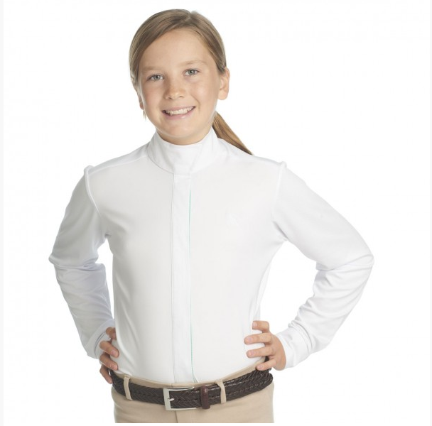Girls Ellie Show Shirt-Apparel-Ovation-6-Ponies-Manhattan Saddlery