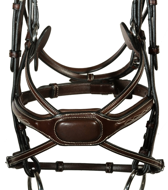 Nunn Finer Arianna Bridle-Horse Bridles-Nunn Finer-Cob-Default-Manhattan Saddlery