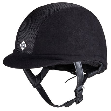 Charles Owen Ayr8 Plus Helmet Black-Helmets-Charles Owen-6 5/8-Manhattan Saddlery