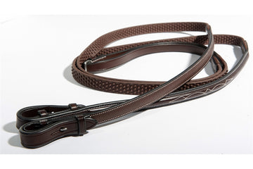 Nunn Finer Bella Donna Soft Grip Reins-Reins-Nunn Finer-Manhattan Saddlery