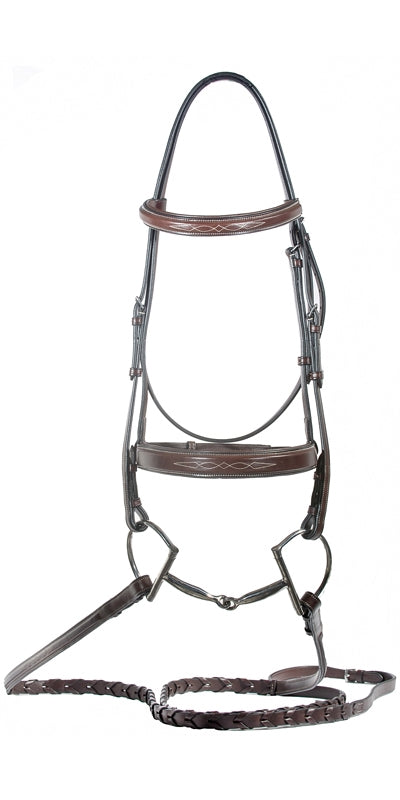 Caterina Hunter Bridle-Horse Bridles-Nunn Finer-Cob-Manhattan Saddlery