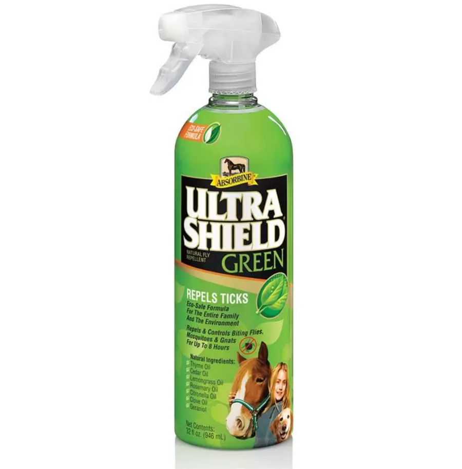 UltraShield Green Fly Spray-Staple Supplies - Health Care-Absorbine-Manhattan Saddlery