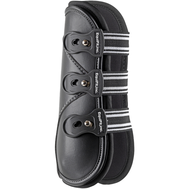 D-Teq Front Boots-Horse Boots-EquiFit-S-Black-Manhattan Saddlery