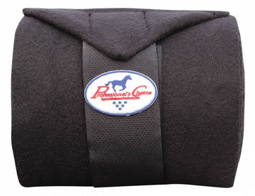 Professional's Choice Deluxe Polo Wraps Black-Horsewear - Boots - Polo Wraps-Professional's Choice-Manhattan Saddlery