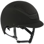 Dogma Light Helmet-Helmets-Kask-55-Black-Manhattan Saddlery