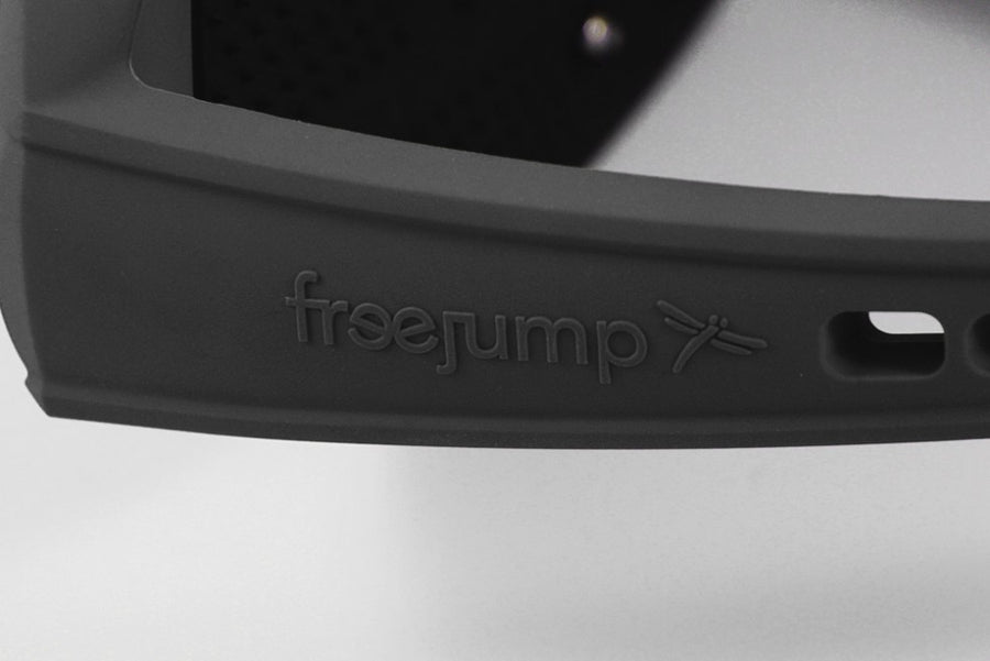Freejump Soft'Up Pro Stirrups-Stirrups-Freejump-Silver/Black-Manhattan Saddlery