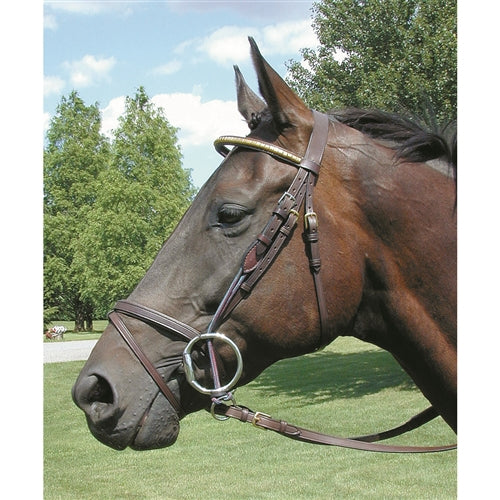 Nunn Finer Gag Cheek-Tack-Nunn Finer-Horse-Manhattan Saddlery