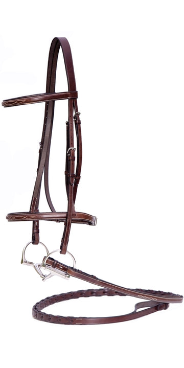 Nunn Finer Giulia Pony Hunter Bridle-Horse Bridles-Nunn Finer-Manhattan Saddlery