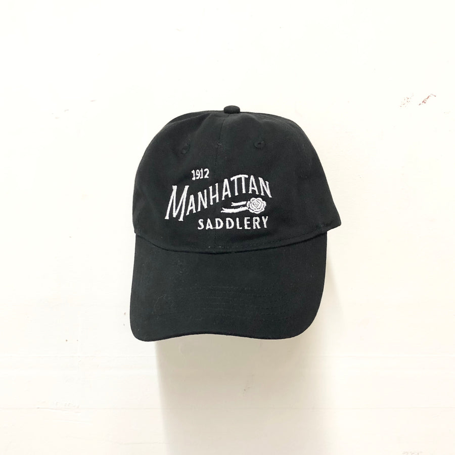 Manhattan Saddlery Ringside Baseball Cap Black-Hats-Manhattan Saddlery-Black-Manhattan Saddlery