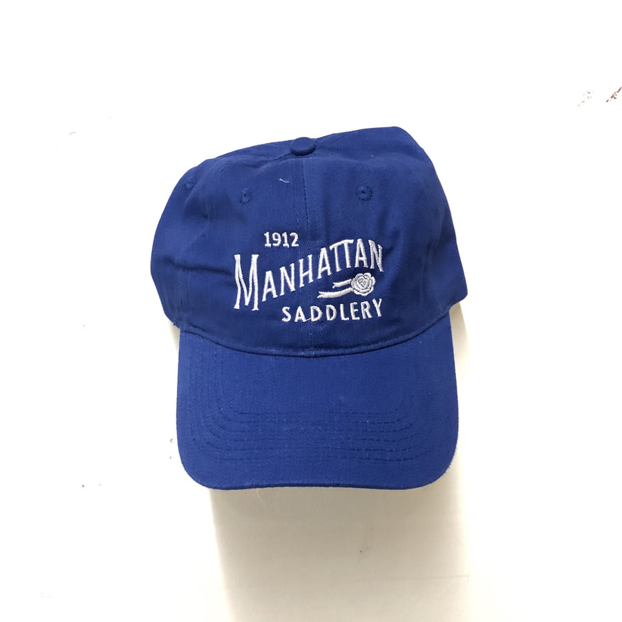Manhattan Saddlery Ringside Baseball Cap Blue Ribbon-Hats-Manhattan Saddlery-Blue-Manhattan Saddlery
