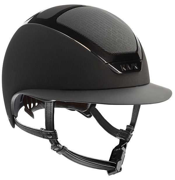 Star Lady Helmet-Helmets-Kask-55-Black-Manhattan Saddlery