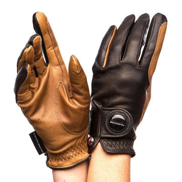Haukeschmidt Finest Gloves Mocha and Tan-Gloves-Haukeschmidt-6-Mocha and Tan-Manhattan Saddlery