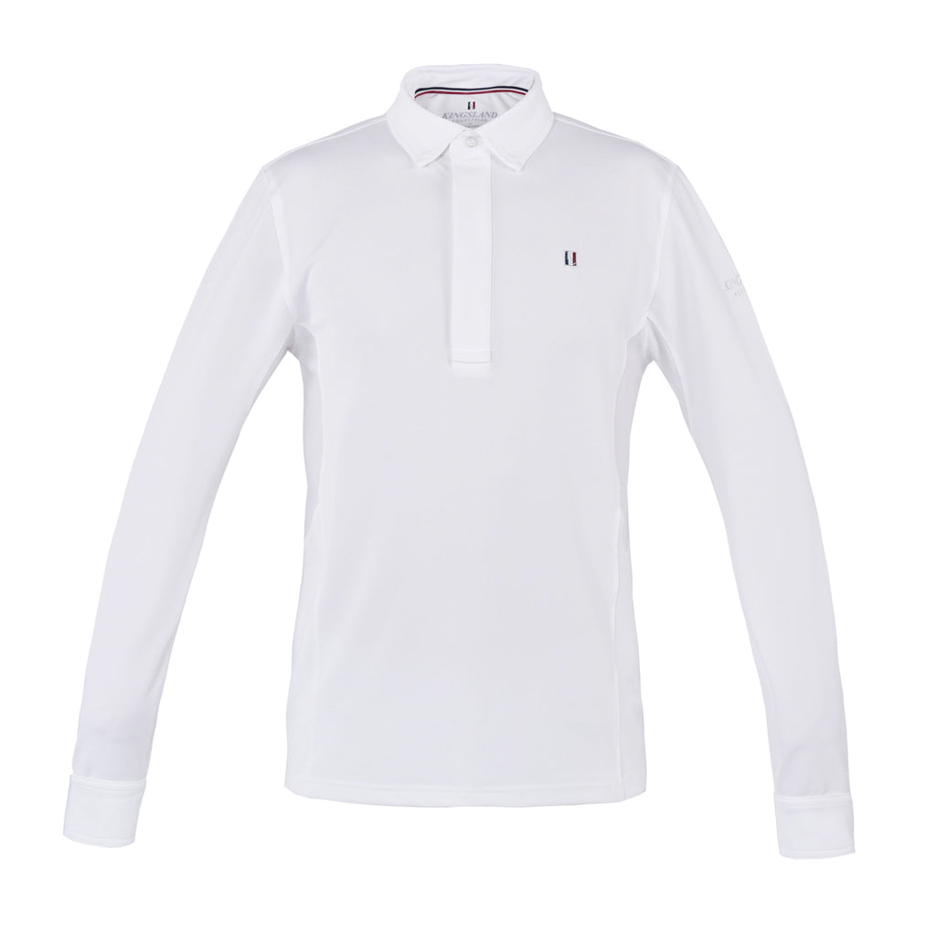 Classic Men's Long Sleeve Show Shirt-Show Shirts-Kingsland-XS-Manhattan Saddlery