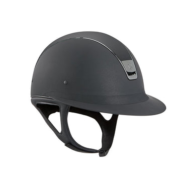 Samshield Miss Shield Wide-Brim-Helmets-Samshield-6 1/2-Black-Manhattan Saddlery