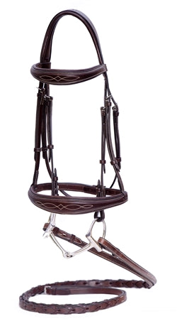 Nunn Finer Monica Bridle-Horse Bridles-Nunn Finer-Cob-Manhattan Saddlery