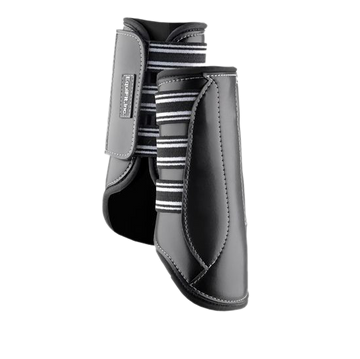 Equifit MultiTeq Front Boot-Horse Boots-EquiFit-Medium-Black-Manhattan Saddlery