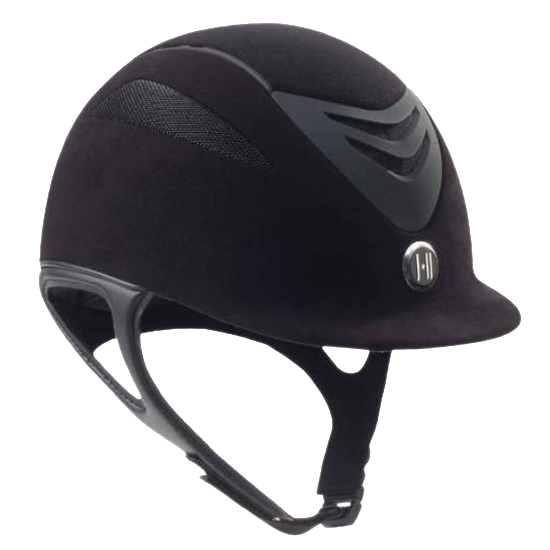 One K Defender Suede Helmet - Manhattan Saddlery