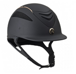 One K Defender Rose Gold Stripe-Helmet-One K-Small-Manhattan Saddlery
