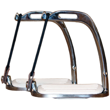 "Peacock Safety Stirrups-Stirrup Irons-Coronet-4""-Manhattan Saddlery"
